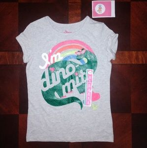 NWT Circo girl's 'I'm Dino Mite' t-shirt 7/8